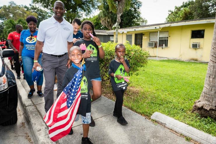 Walking School Bus Neighborhood Revitalization