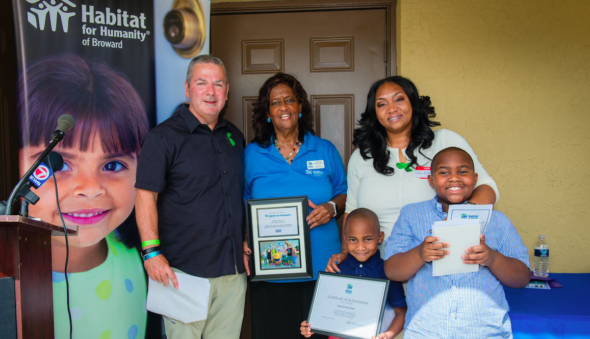 image_Robert Taylor; Marcia Barry-Smith; Shakeda Williams family