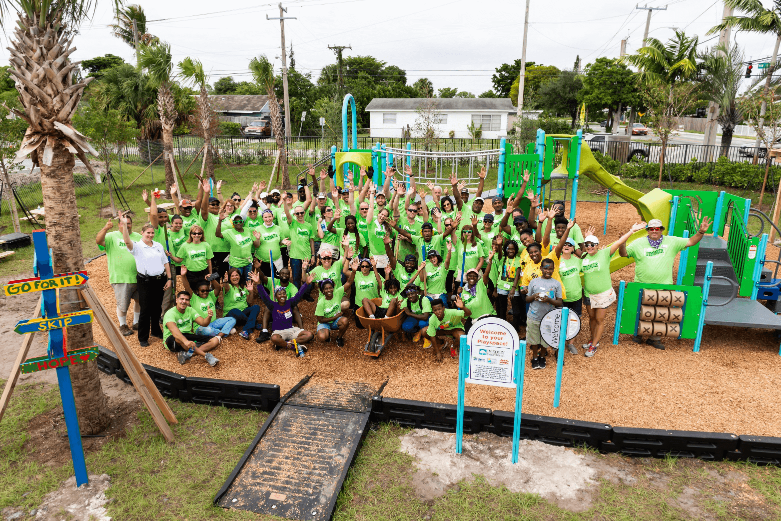 Habitat Broward, JM Family, KaBOOM!